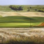 Deutsche Landschaft - 2003 - Oel auf Leinwand - 75 cm x 100 cm
