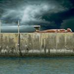 Liegende - 2012 - Acryl auf Leinwand - 76 cm x 115 cm