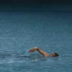 Schwimmer - 2009 - Oel auf Leinwand -25 cm x 65 cm