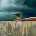 Liegende - 2012 - Acryl auf Leinwand - 76 cm x 115 cm (Detail)