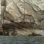 Felsen (Detail)