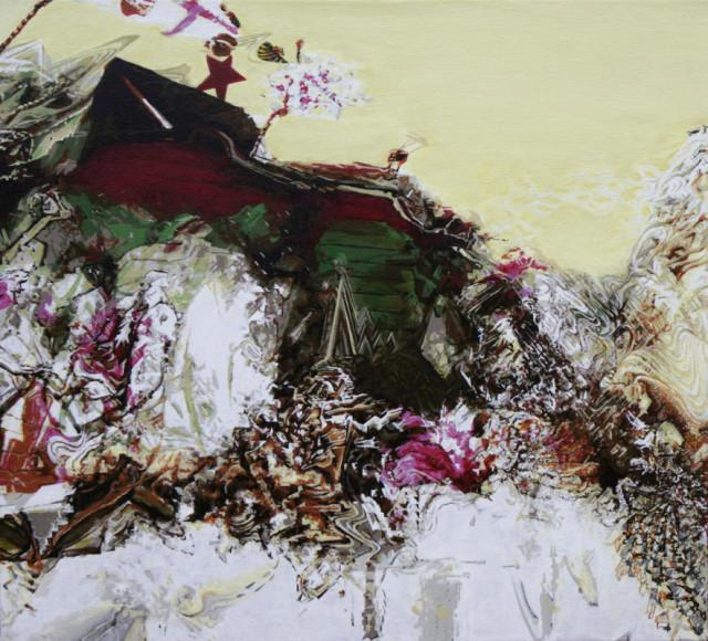 Lido - 2014 - Acryl auf Leinwand - 50 cm x 52 cm