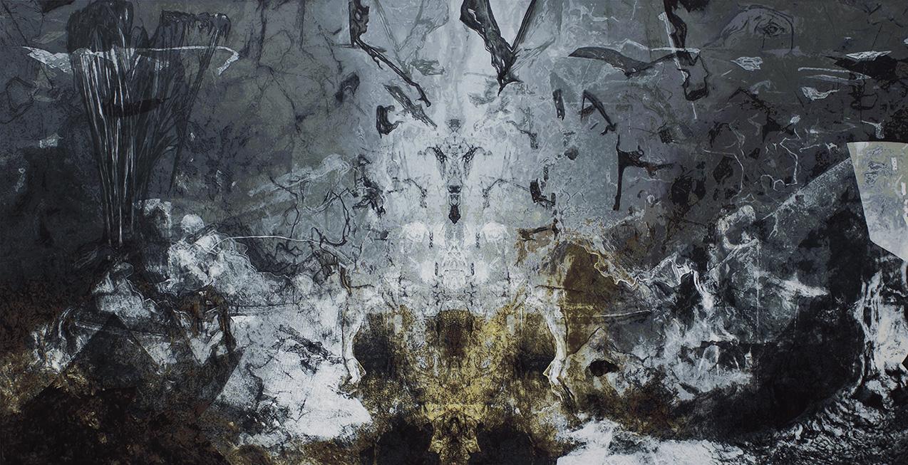 Intruder - 2020 - Acryl auf Leinwand - 130 cm x 250 cm
